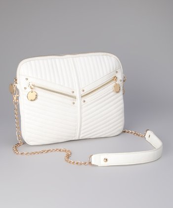 White Jasmine Crossbody Bag