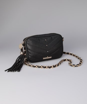 Black Jaclyn Crossbody Bag