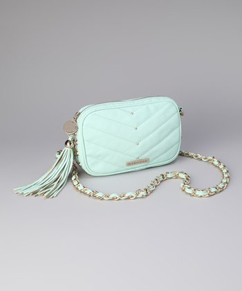 Mint Jaclyn Crossbody Bag