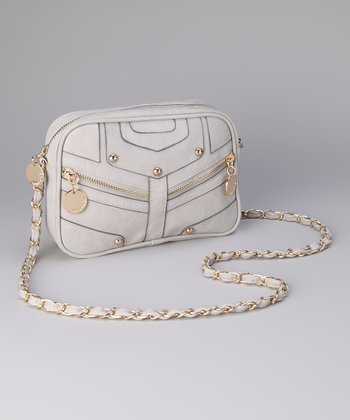 Gray Julie Crossbody Bag