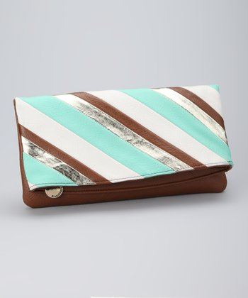 Teal Cami Clutch
