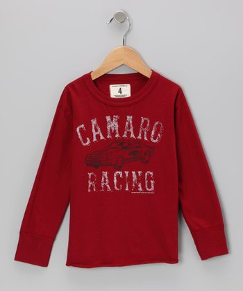 Faded Red 'Camaro Racing' Tee - Toddler & Boys