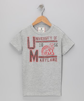 Heather Gray 'University of Maryland' Tee - Boys