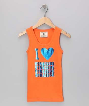 Energy Orange 'I Love Syracuse' Tank - Girls
