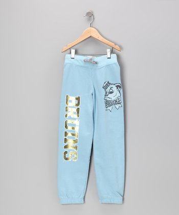 Sky Blue 'Bruins' UCLA Sweatpants - Girls