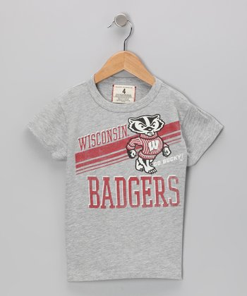 Heather Gray 'Go Bucky' Tee - Toddler & Girls