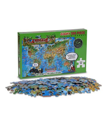 Jumbo World Animal Puzzle