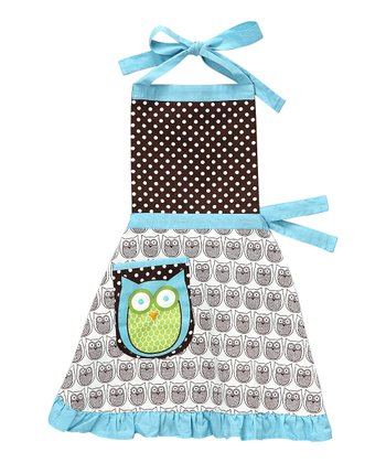 Hoot Stuff Apron - Kids