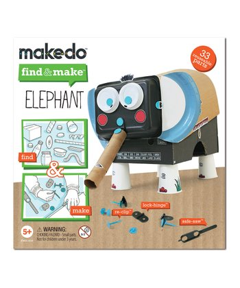 Find & Make Elephant Kit