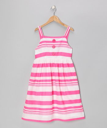 Fuchsia Stripe Dress