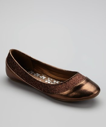 Bronze Metallic Flat