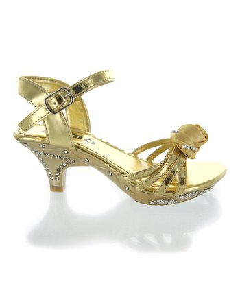 Gold Rose Sandal