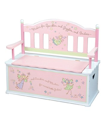 Fairy Wishes Storage Bench