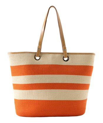 Orange Capri Tote
