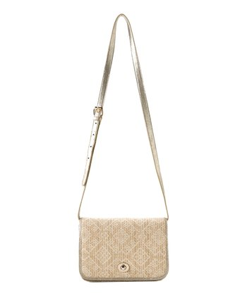 Gold Vivi Crossbody Bag