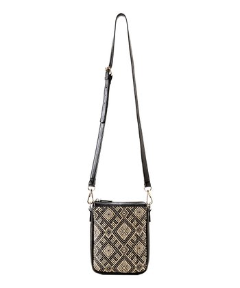 Black Vivi Casual Crossbody Bag