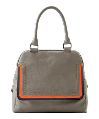 Gray Kim Satchel