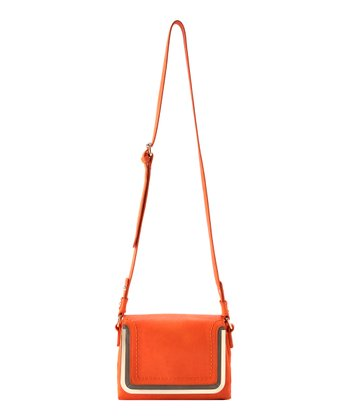 Orange Kim Crossbody Bag