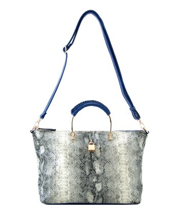 Gray Rae Satchel