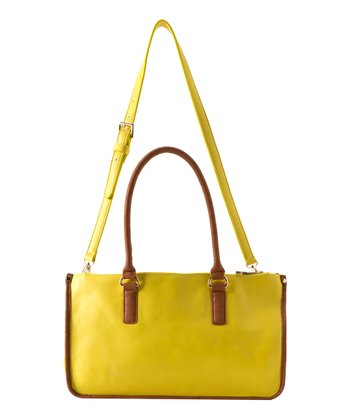 Lemon Kensington Satchel