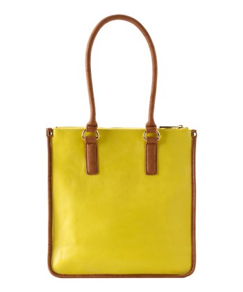 Lemon Kensington Tote