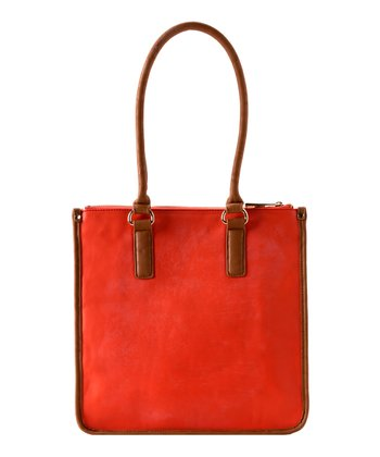 Orange Kensington Tote