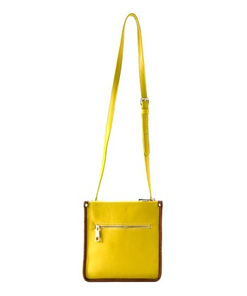 Lemon Kensington Crossbody Bag