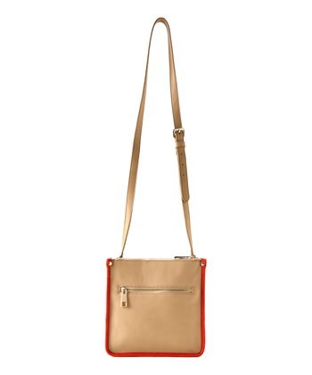 Sand Kensington Crossbody Bag