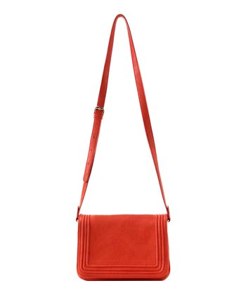 Orange Leona Crossbody Bag