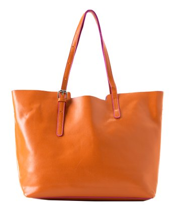 Orange Nadine Tote