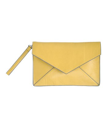 Lemon Nadine Clutch