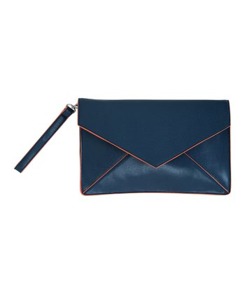 Navy Nadine Clutch