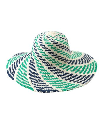 Blue Sorrento Sun Hat