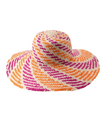 Orange Sorrento Sun Hat