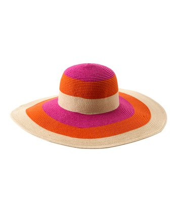 Orange Salerno Sun Hat