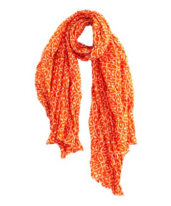 Orange Letitia Scarf