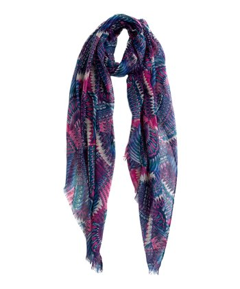 Blueberry Avalon Scarf
