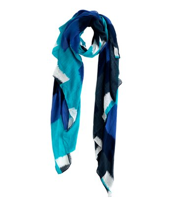 Blue Stripe Aria Scarf