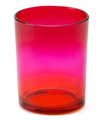 Red & Pink Large Sunset Candleholder
