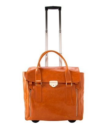 Orange Jillsie Roller Bag