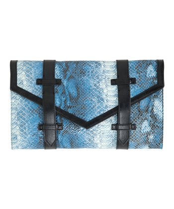 Blue Lexie Clutch