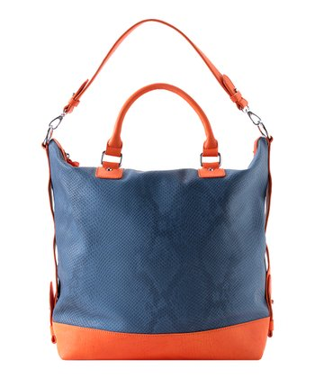 Denim Arabella Satchel