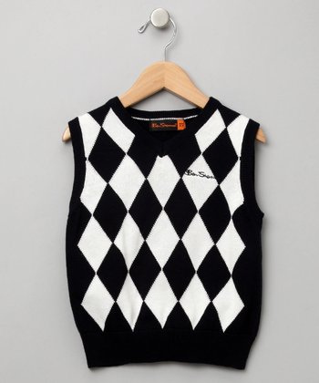 Argyle Sweater Vest - Boys
