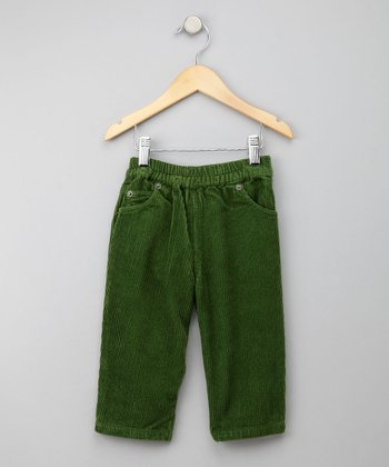 Green Corduroy Pants - Infant, Toddler & Boys