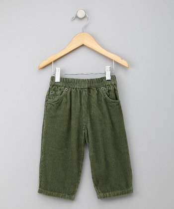Loden Corduroy Pants - Infant, Toddler & Boys