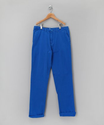 Directoire Blue Chino Pants - Boys