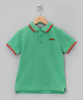 Jelly Bean & Rouge Polo - Boys