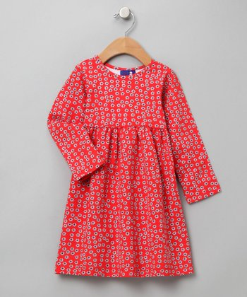 Autumn Petals Tee Dress - Toddler & Girls