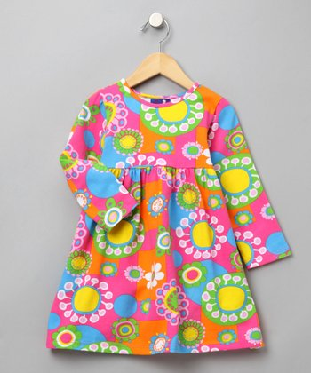 Flower Power Tee Dress - Infant, Toddler & Girls
