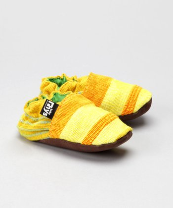 Yellow Meadow Booties